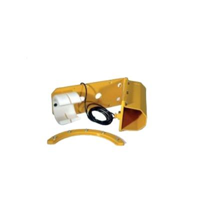 Sistema de abatimiento por impacto para brazo de barrera GARD4 y brazo nacional 009-MXARM001