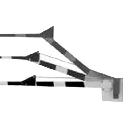 Brazo de madera con articulacion / Compatible con barreras DKS 1601