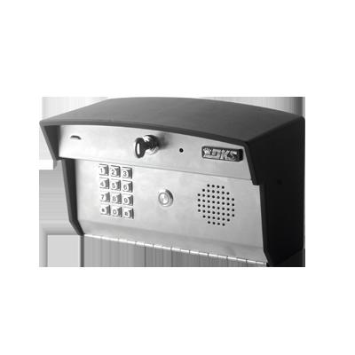 Control de acceso con audioportero integrado