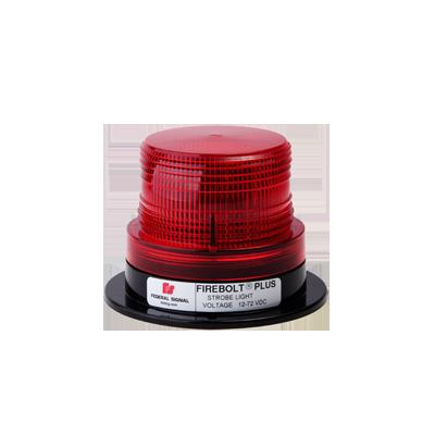 Estrobo rojo FireBolt Plus con tubo de reemplazo, 12-72 Vcd (2 Joules)