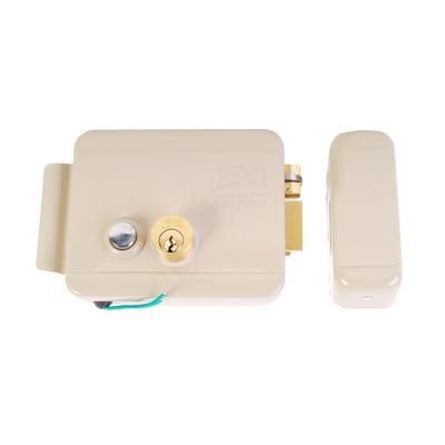 Cerradura Eléctrica / Incluye Llave / Derecha/ Con Botón integrado /Exterior