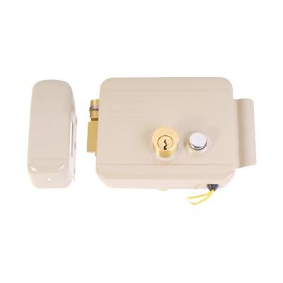 Cerradura Electrica / Incluye Llave /Con Boton integrado / Izquierda / Exterior