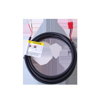 Cable de Corriente de 3 m. para Fuente de Poder RICOCHET - SILVER Series con Conectores AMP en Ambos Extremos