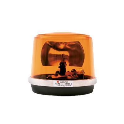 Luz giratoria economica modelo 100, color ambar