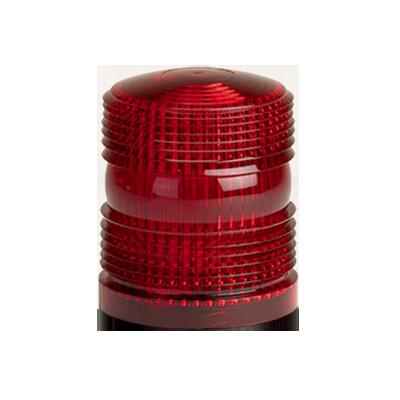Domo de reemplazo para estrobo renegade, color rojo