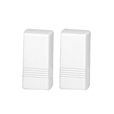 Contacto Magnético Inalámbrico / Se puede conectar OTRO Sensor Cableado / 2 Zonas /Batería de Larga Duración 3-5 años