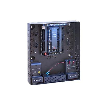 Controlador de acceso para 4 lectoras / Expandible a 56 Lectoras / Compatible con Sistema de Elevadores / 100,000 Usuarios