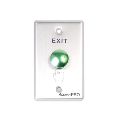 Botón redondo color verde (IP65)