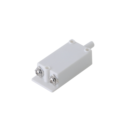 Tamper switch en color blanco