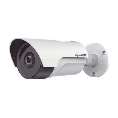 Bullet TURBOHD 1080p  / Gran Angular 92º / Lente 2.8 mm / Climas Extremos / IR EXIR Inteligente 40 mts / Exterior IP66