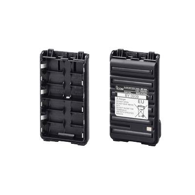 """Contenedor para 6 Baterías """"AA"""". Para Radios IC-F3003/4003, F3103D/4103D, F3210D/4210D."""