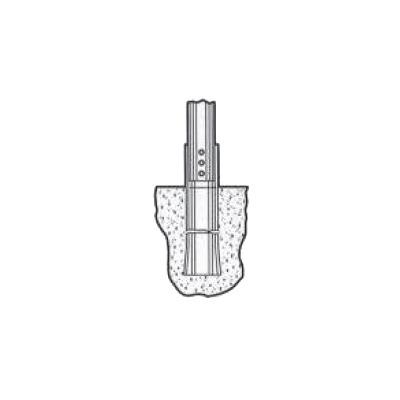 Base de Concreto para Asentar la Torre Autosoportada TBX-32 (Juego de Tres).