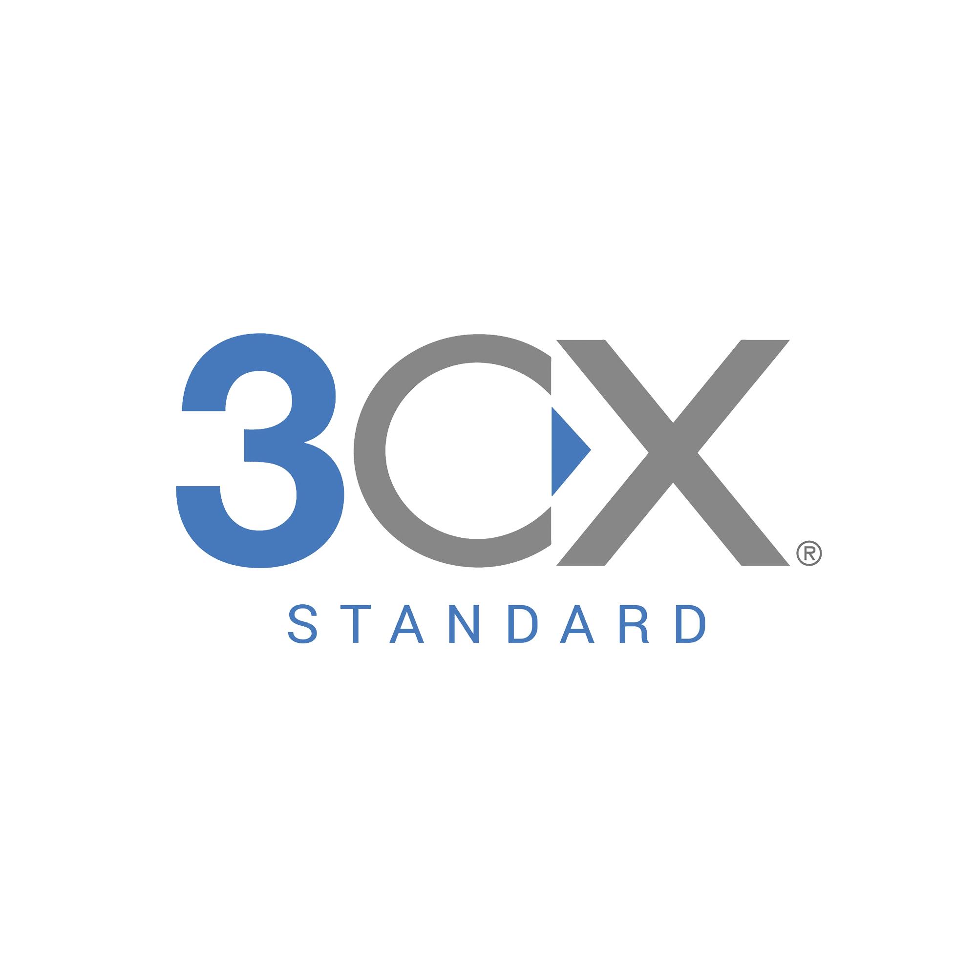 Licencia perpetua de 3CX Standard para 4 llamadas simultáneas y extensiones ilimitadas