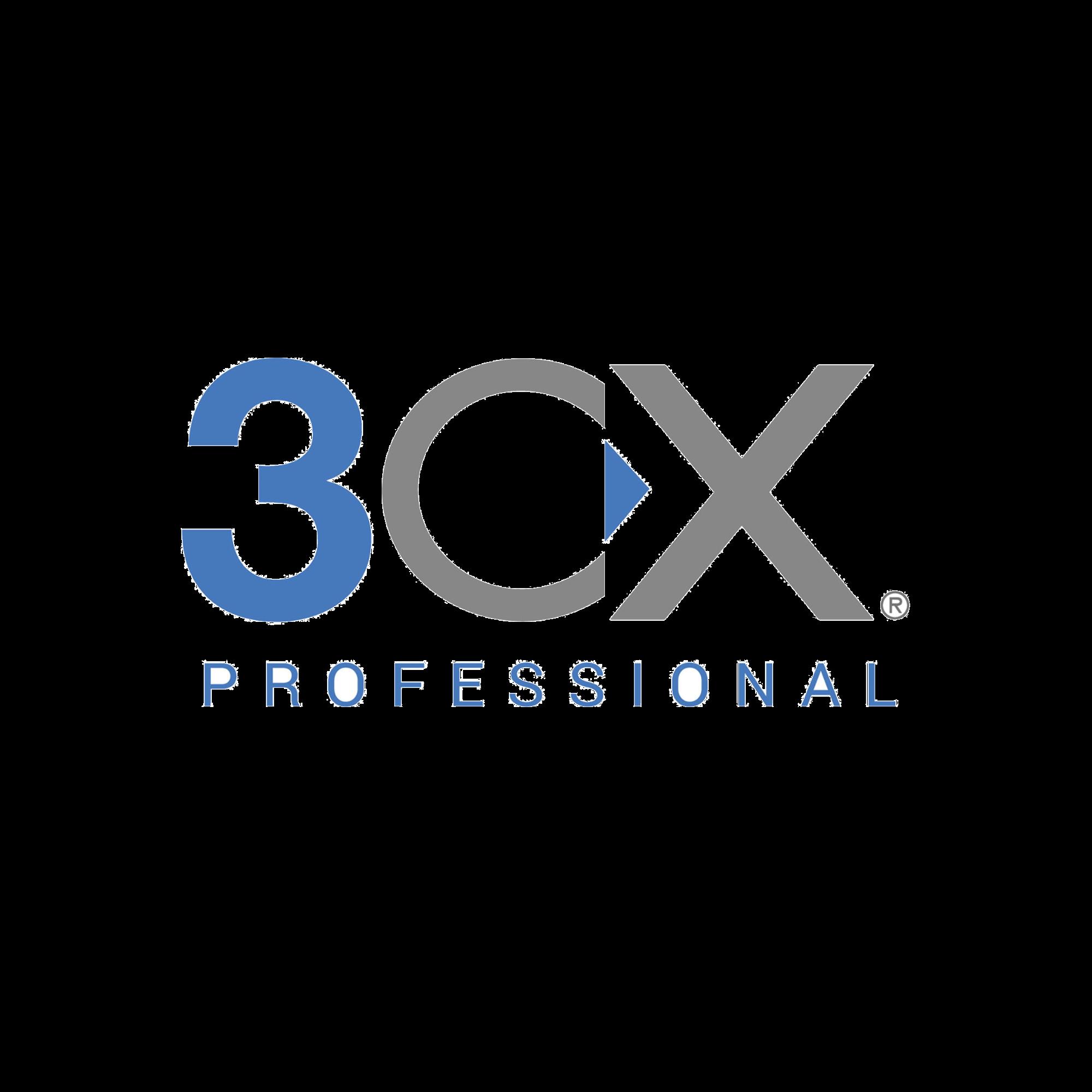 Licencia anual de 3CX Professional para 32 llamadas simultáneas y extensiones ilimitadas