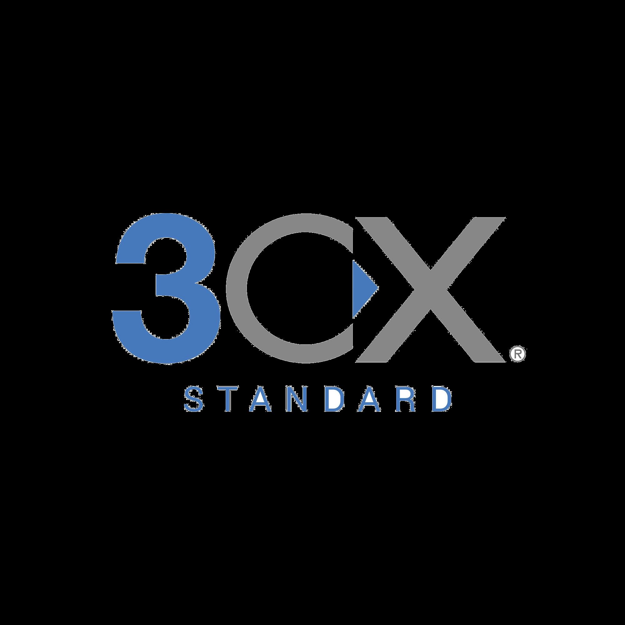 Licencia anual de 3CX Standard para 128 llamadas simultáneas y extensiones ilimitadas
