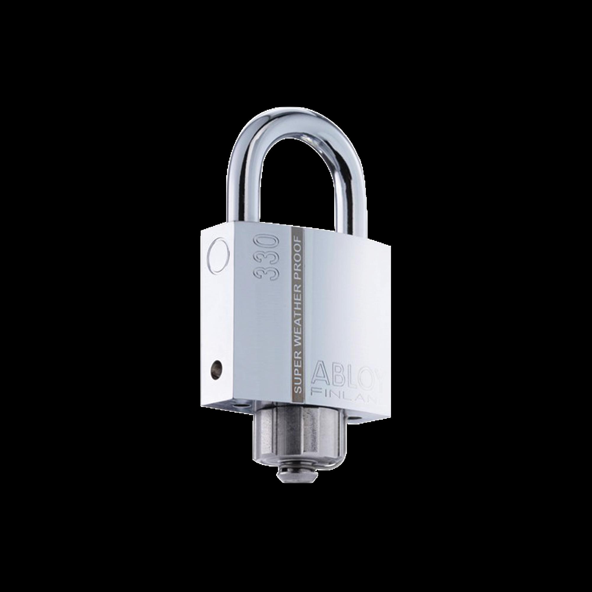 Candado Abloy / Grado 3 de Seguridad / Arco de 25 mm / Tapa Protectora / Sello Impermeable