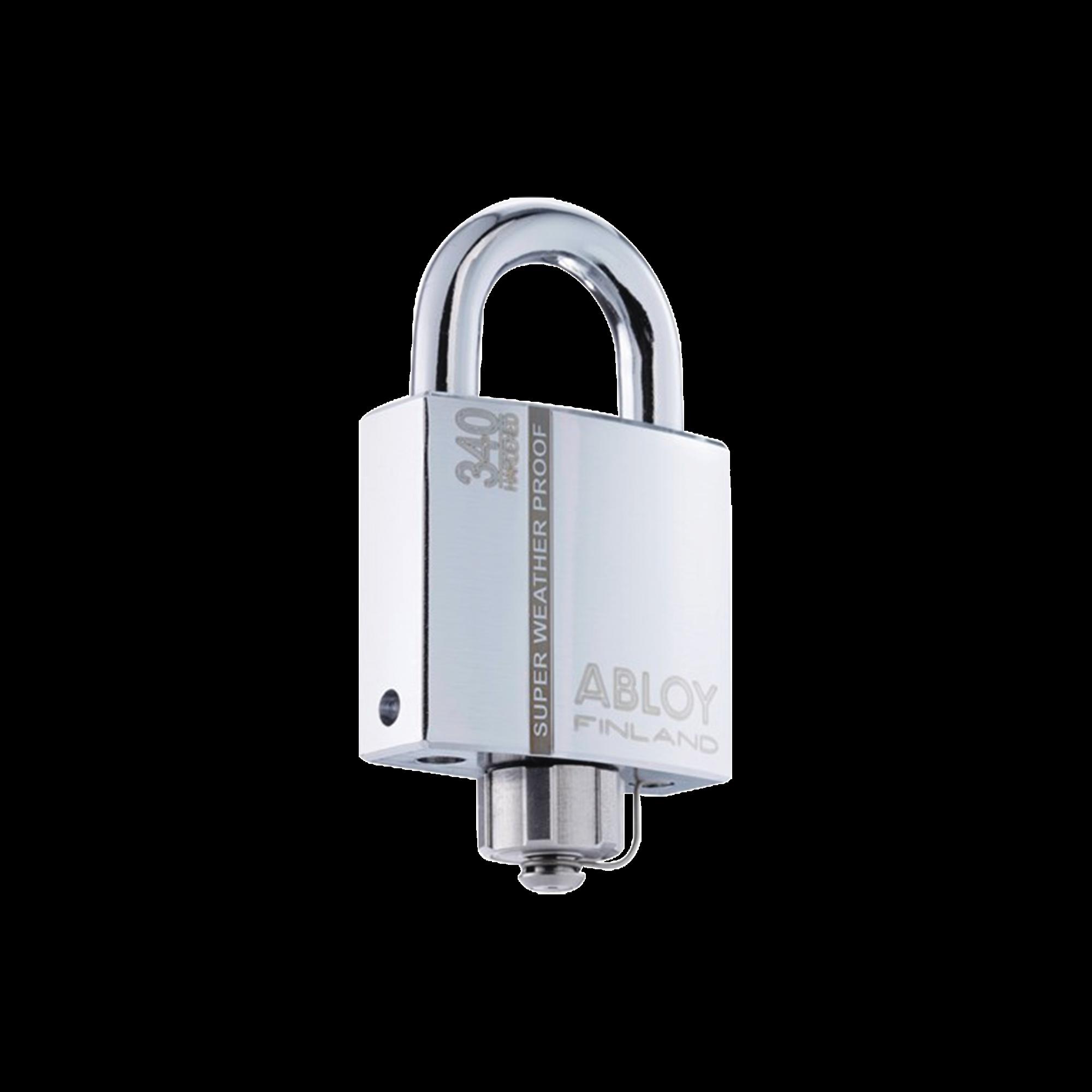 Candado Abloy / Grado 4 de Seguridad / Arco de 25 mm / Tapa Protectora / Sello Impermeable