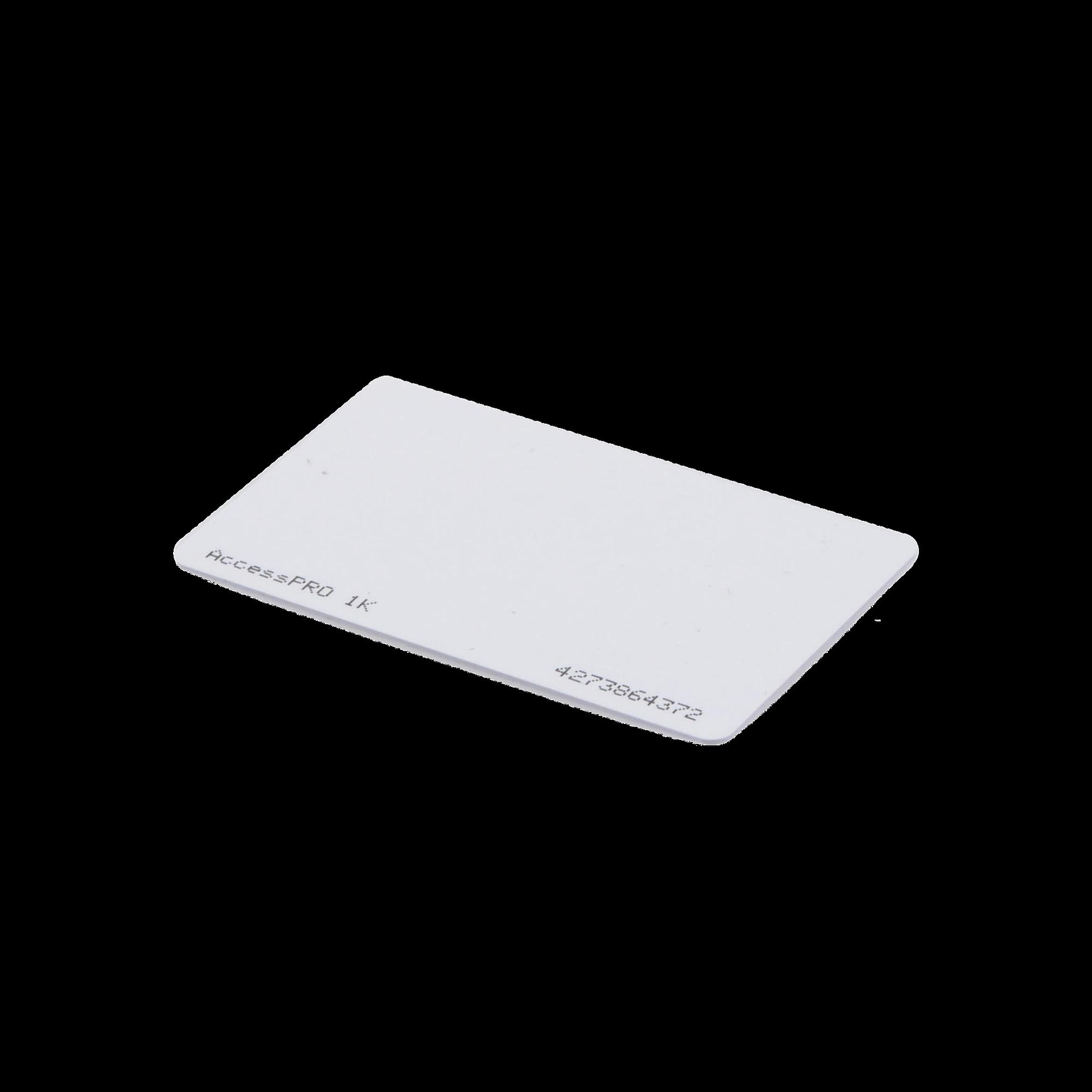 Tarjeta MIFARE Classic / Tipo ISO Card / Memoria 1Kb / Imprimible / Frecuencia 13.56 Mhz/ Formato CR80