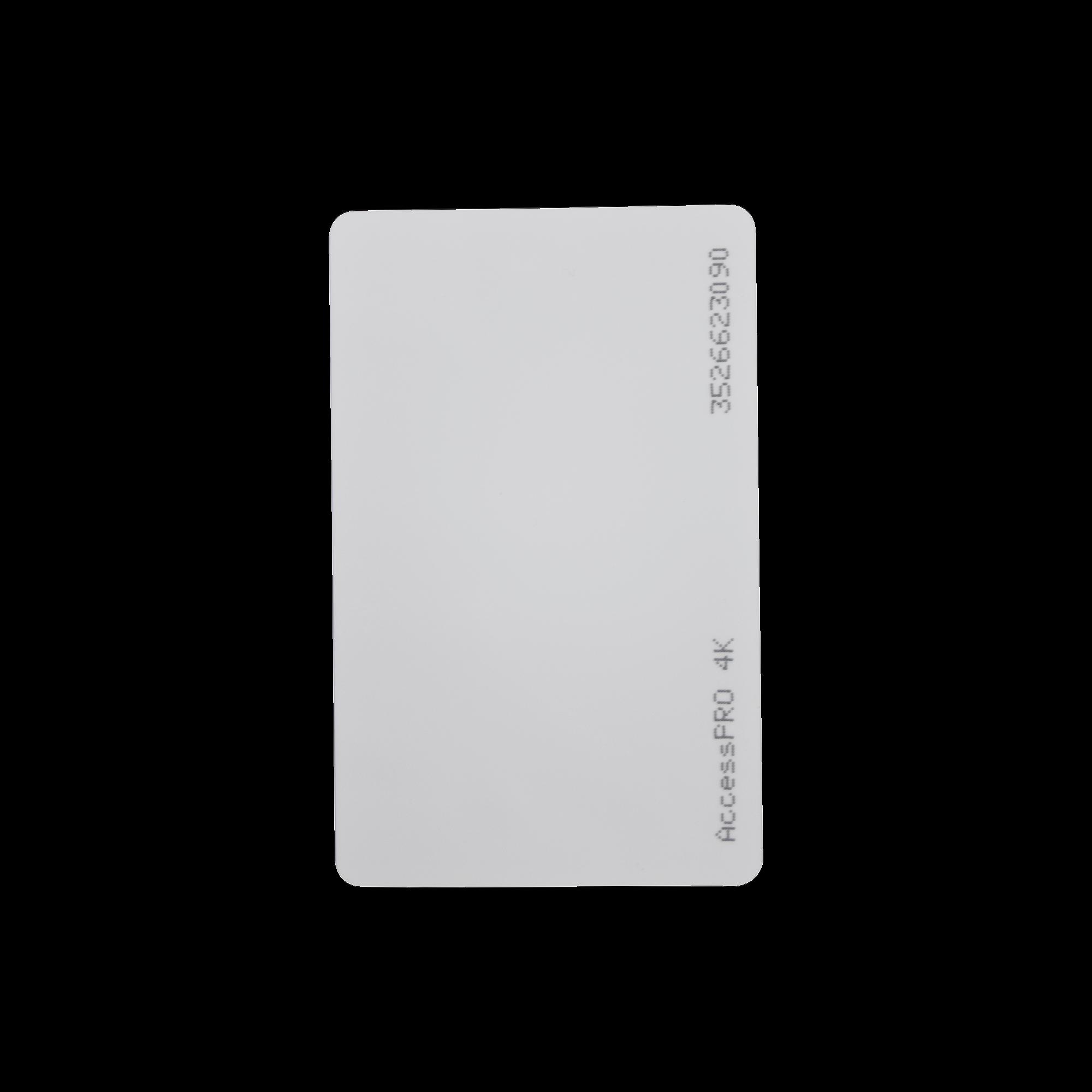 Tarjeta MIFARE Classic / Tipo ISO Card / Memoria 4Kb / Imprimible / Frecuencia 13.56 Mhz/ formato CR80