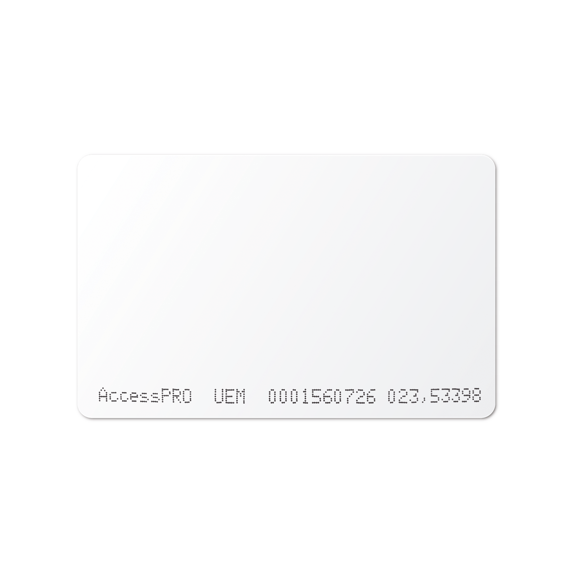 Tarjeta Tecnologia Dual: RFID (UHF) 900 MHz/Proximidad 125 kHz para Uso en Oficinas y Estacionamientos
