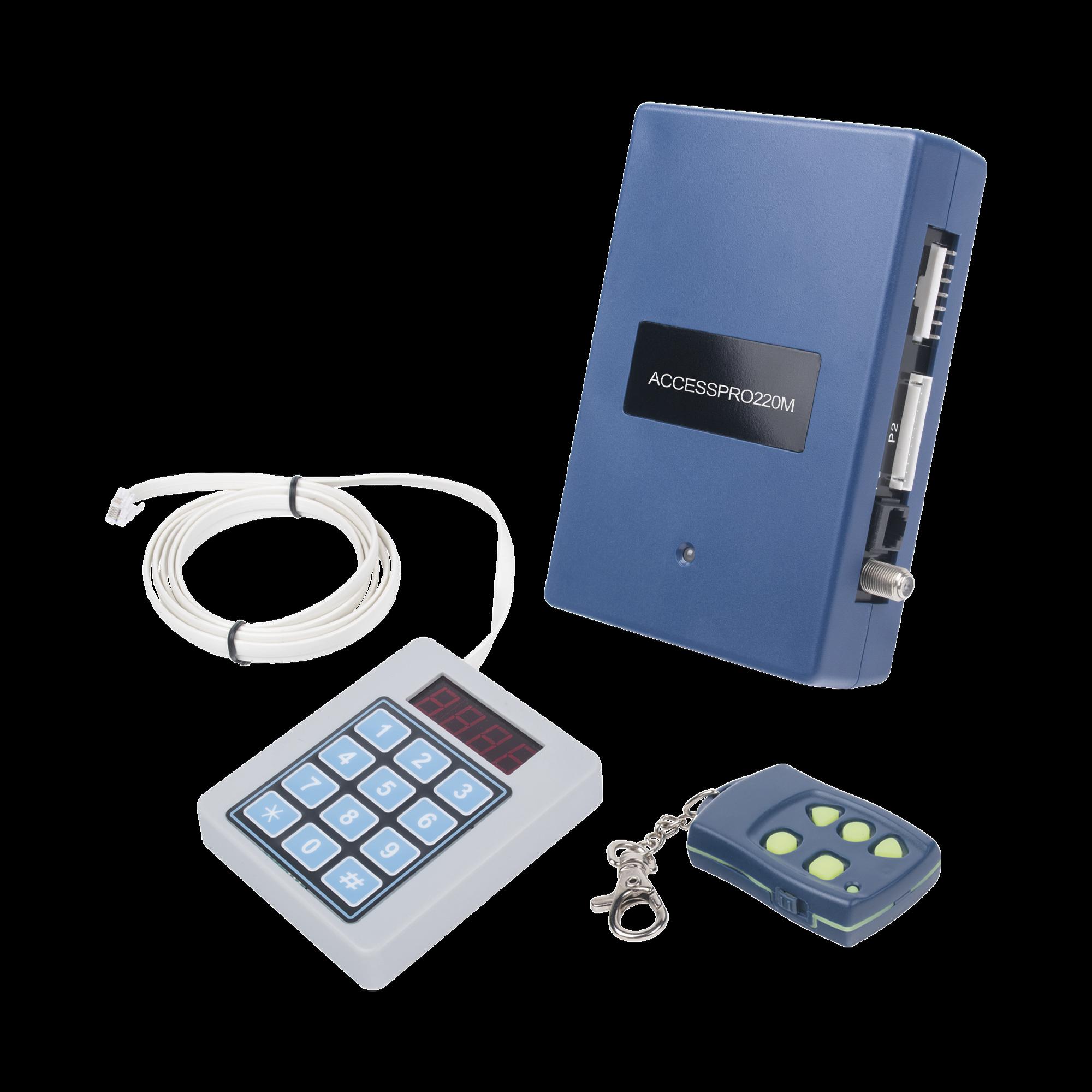 Receptor Inalambrico Universal, Mando a Distancia, Controles Administrables, Hasta 1600 usuarios, compatible con Barreras y Motores de puertas