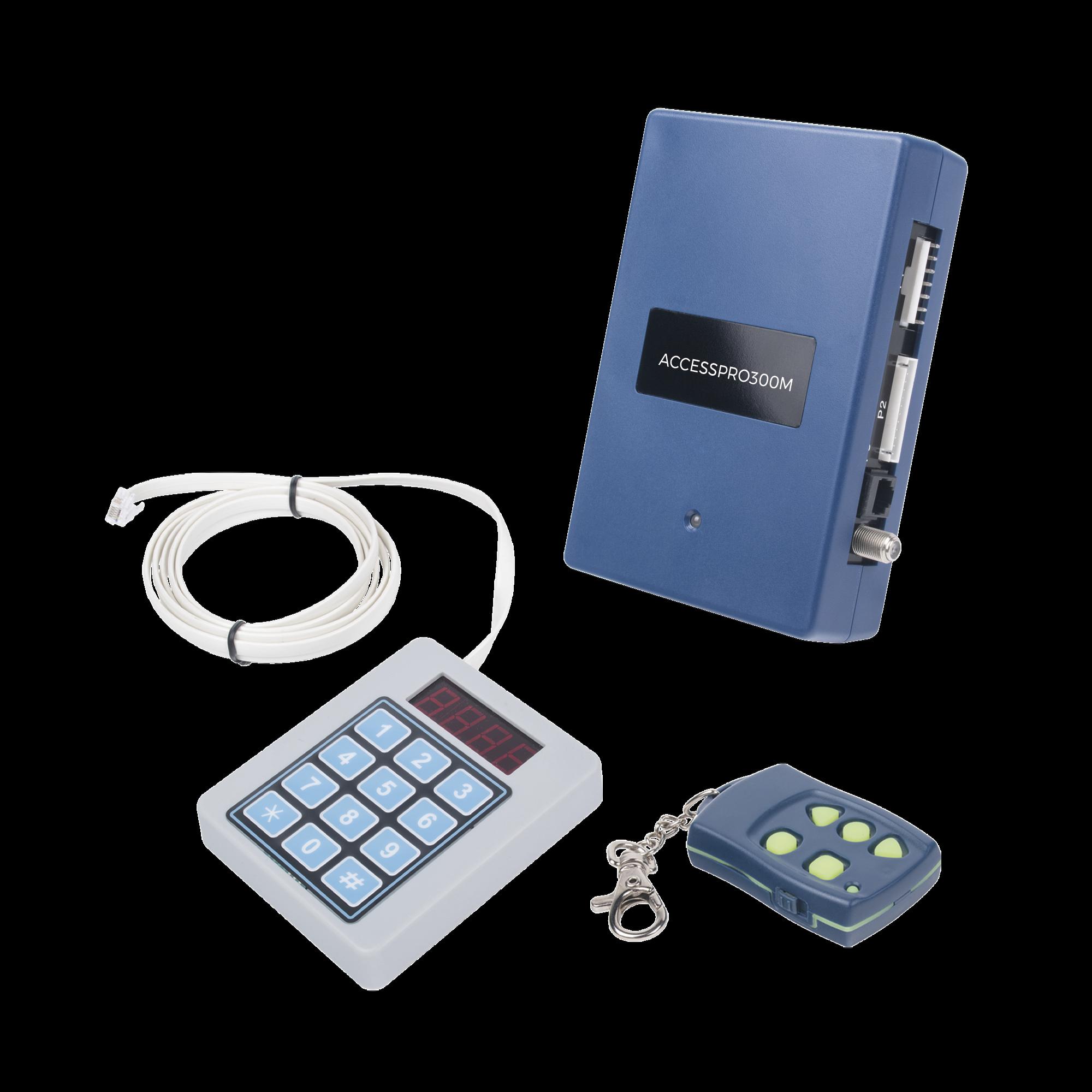 Receptor Inalambrico Universal Administrable por Software, Hasta 1600 controles de usuarios, compatible con Barreras y Motores de puertas