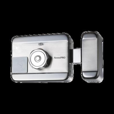 Cerradura Eléctrica Motorizada/ Con lector de Tarjetas de Prox (EM 125Khz)  / Exterior