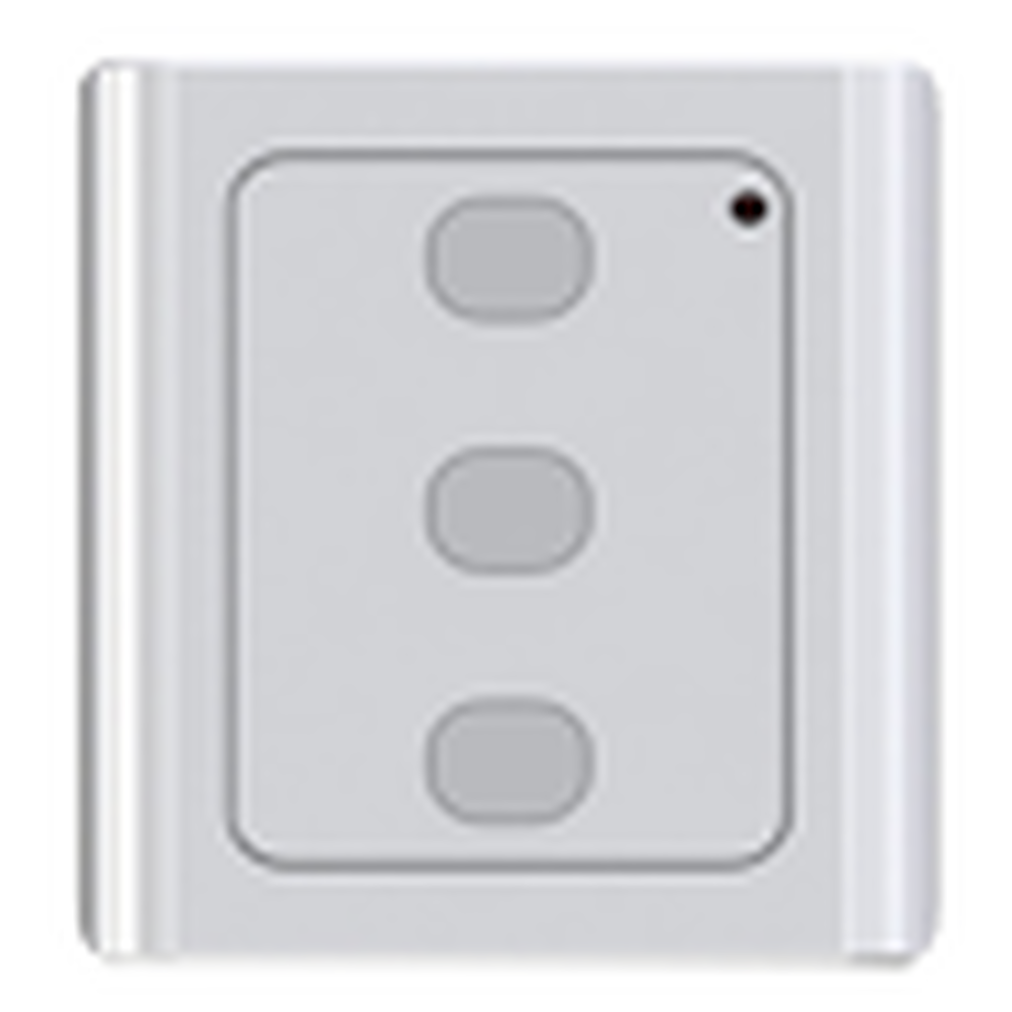 Control Remoto Inalambrico  RF de PARED,  compatible con ACCESSFORCE y FS1000SPEED