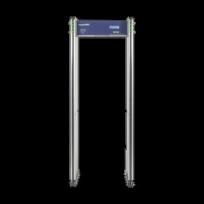 Detector de Metales de 18 zonas/ Uso en Interior/Programación con Control Remoto / Contador de Personas
