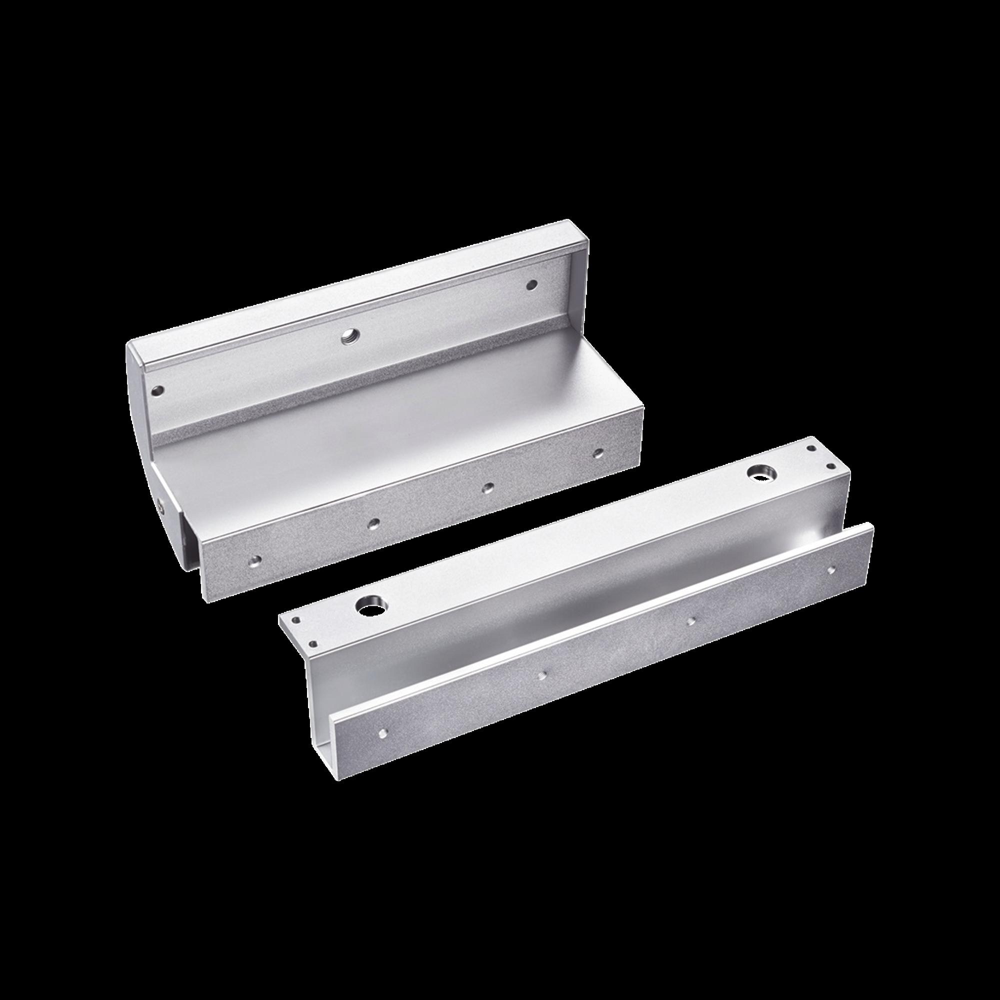 Montaje para puertas de Solo Cristal para uso con Chapa Magnética MAG600NLED y MAG600NTLED