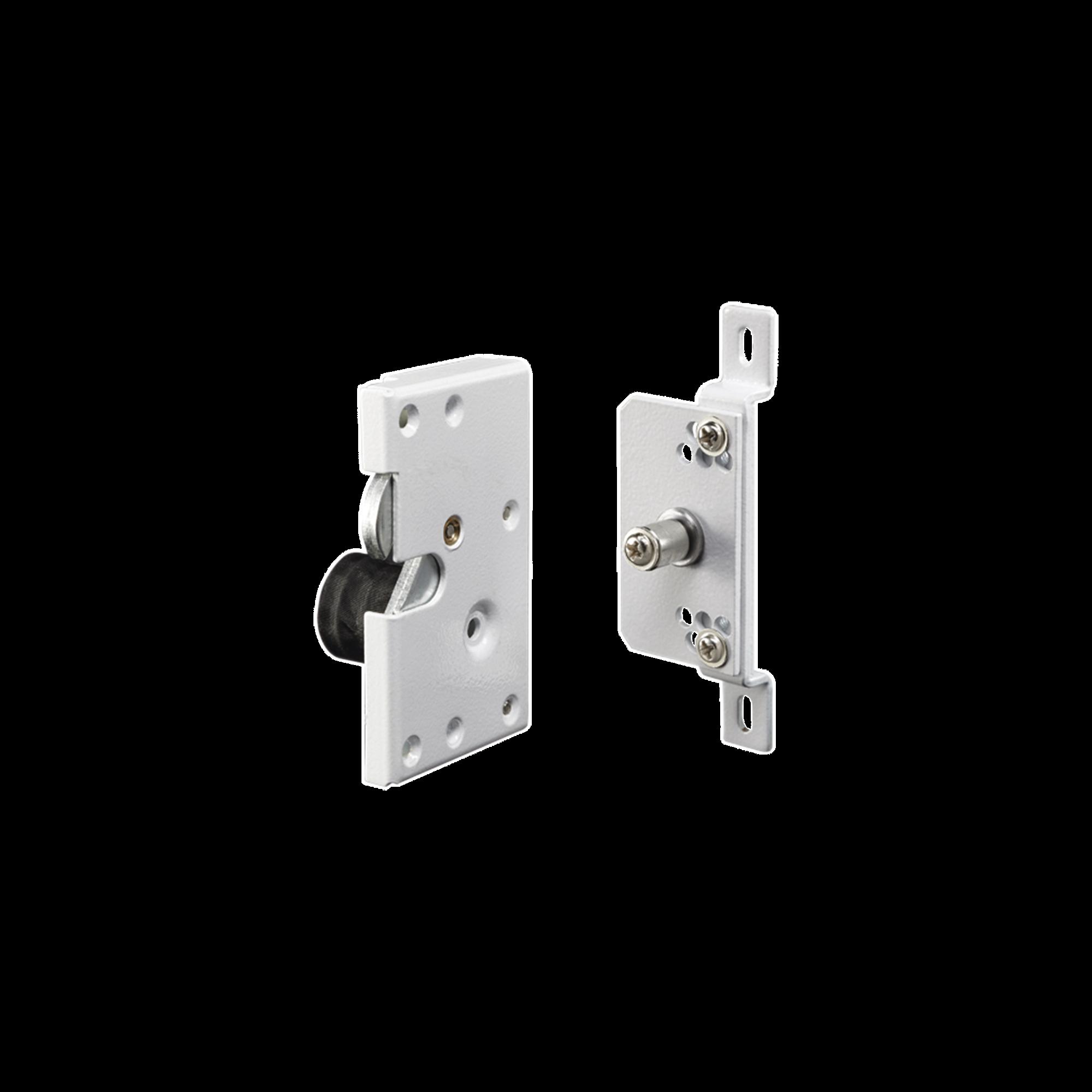 Cerradura eléctrica para puertas corredizas tipo gancho / Abierto en caso de falla.