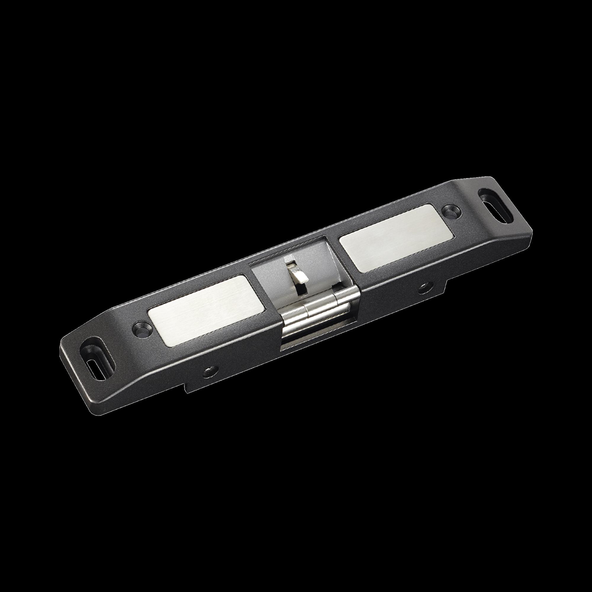 Contrachapa Electrica Cerrada o Abierta en Caso de Falla ( Fail Secure)/ Uso en puertas de emergencia con barra de salida.
