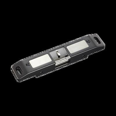 Contrachapa Eléctrica Cerrada o Abierta en Caso de Falla ( Fail Secure)/ Uso en puertas de emergencia con barra de salida.