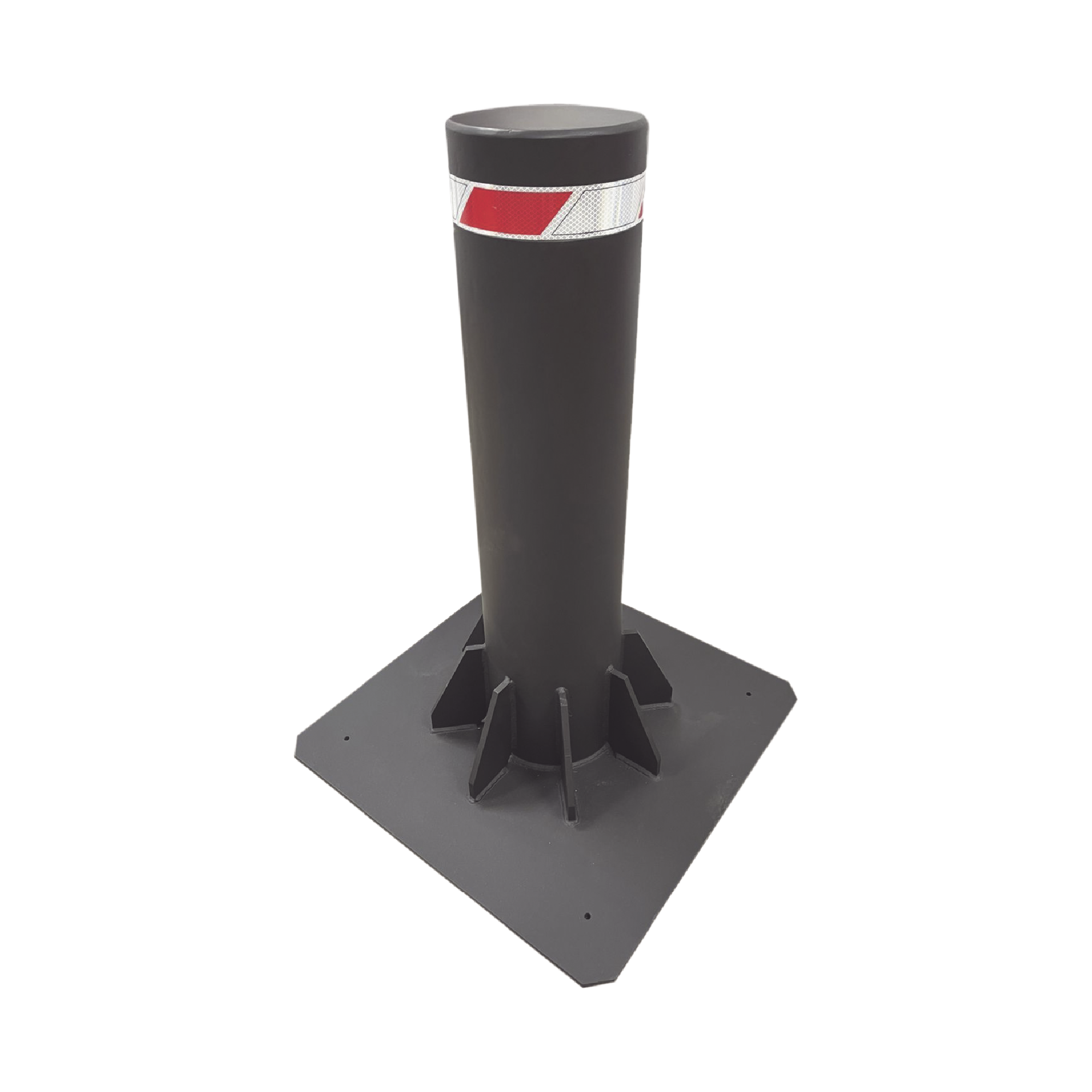 Bolardo Fijo de Alta Seguridad de 220 mm de Diámetro / Fabricado en Acero al Carbon
