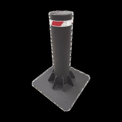 Bolardo Fijo de Alta Seguridad de 220 mm de Diámetro / Fabricado en Acero al Carbón