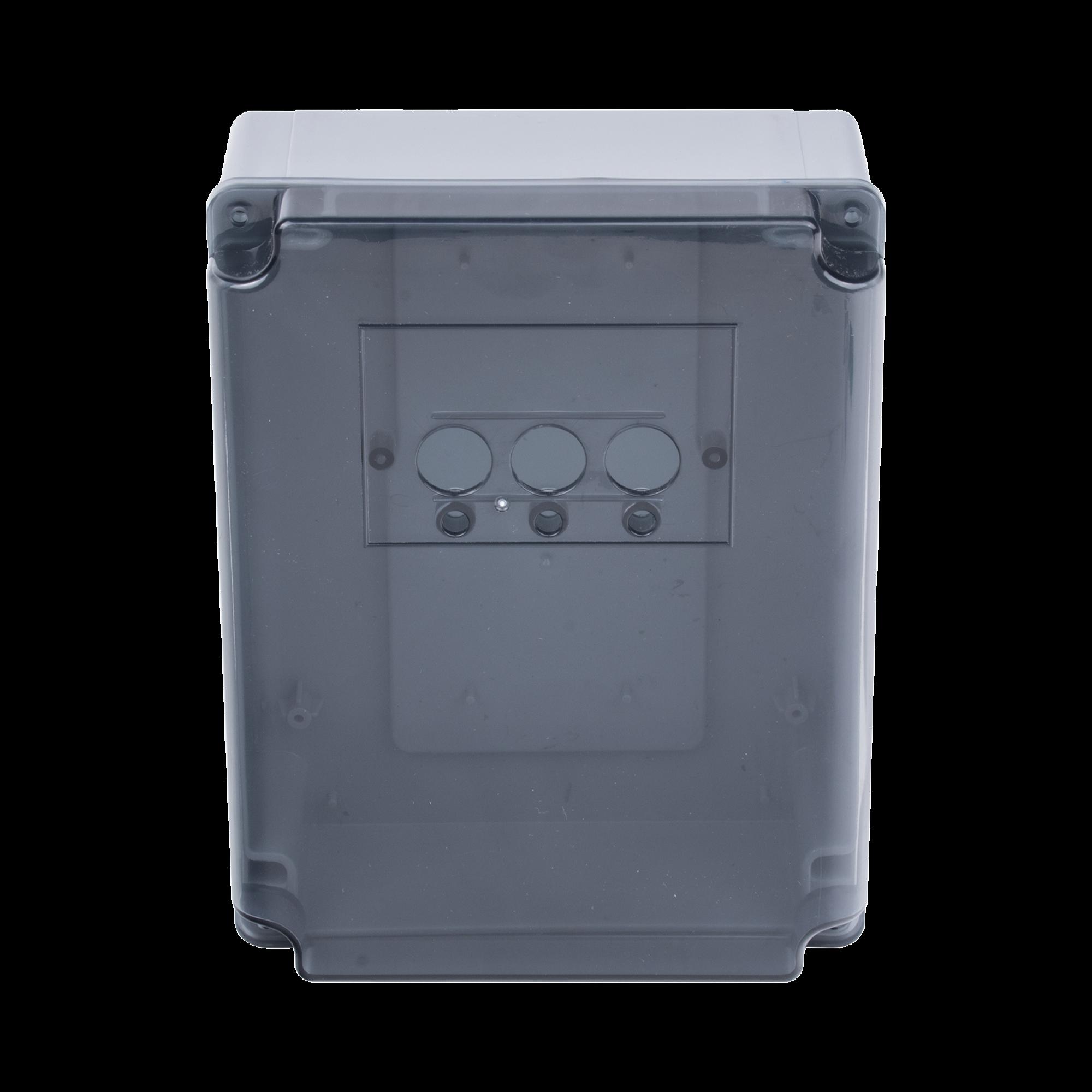 Refacción para barreras XBS y XBF AccessPRO Industrial / Caja de plástico con botonera para cuadro de mando