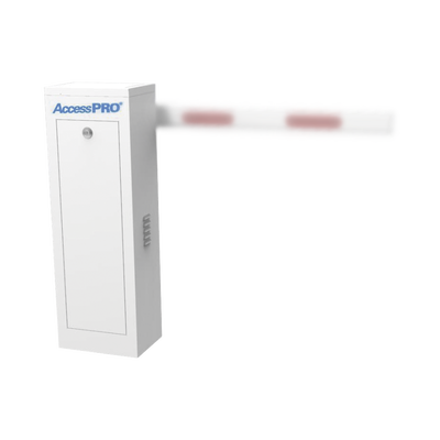 Barrera Vehicular Derecha / Soporta brazo Telescópico de hasta 6 metros / Tiempo de Apertura 6 segundos