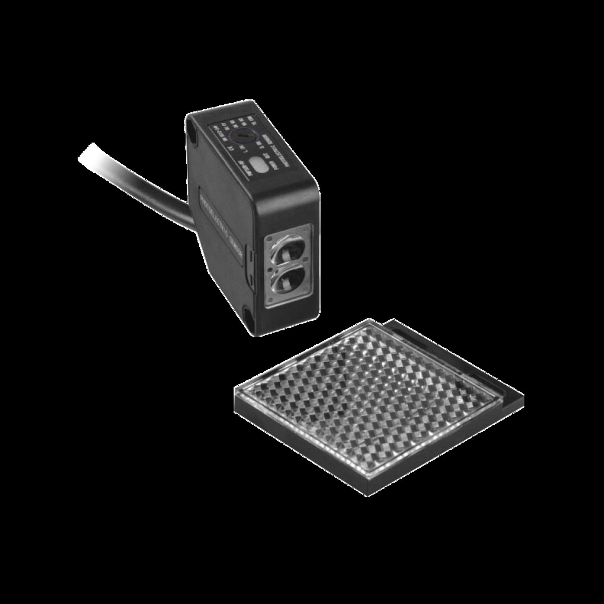 Detector fotoelectrico de 7 m de alcance  / Luz indicadora para alineacion