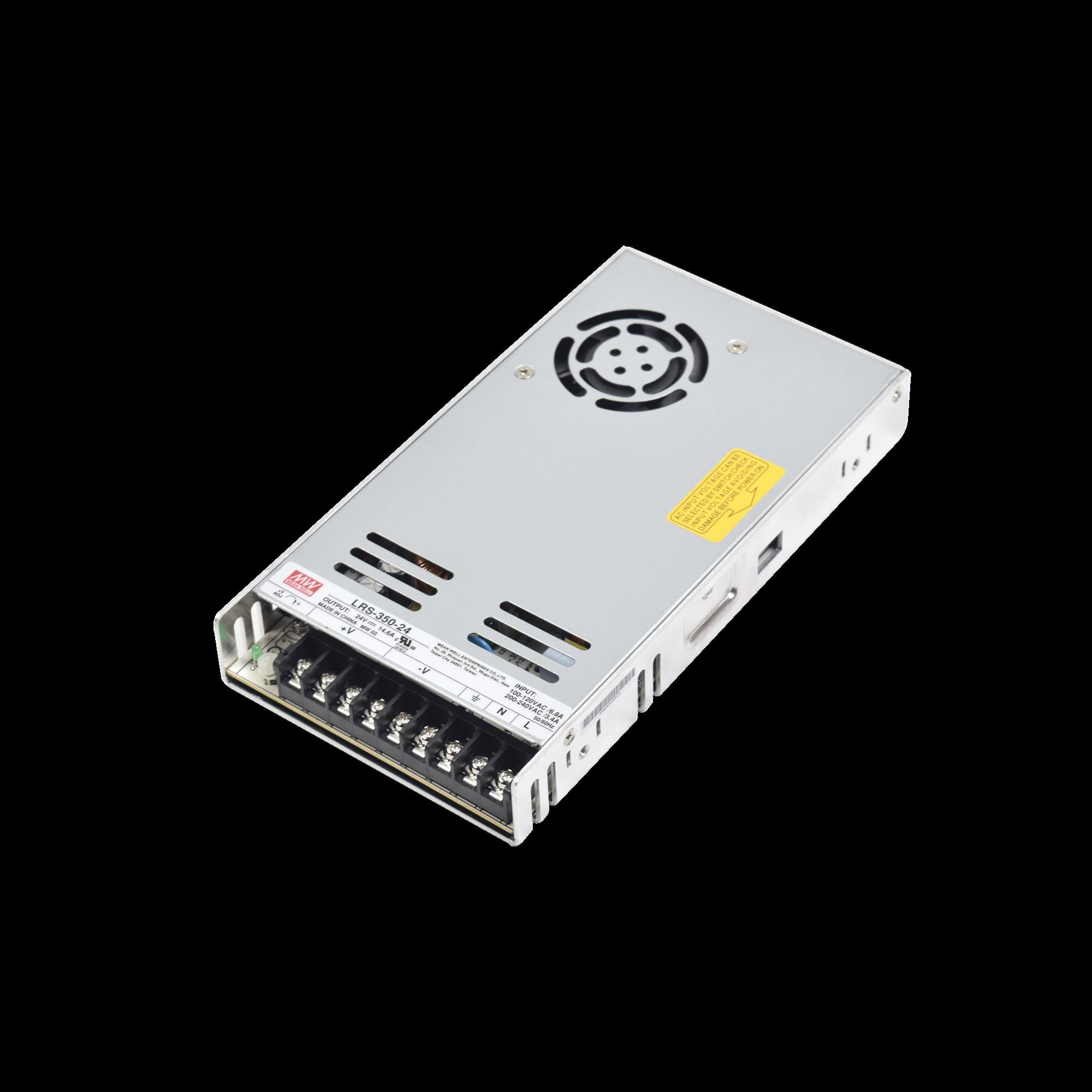 Fuente de alimentacion de 12 y 24 VCD para torniquetes XT1000, XT5000 y XT7000