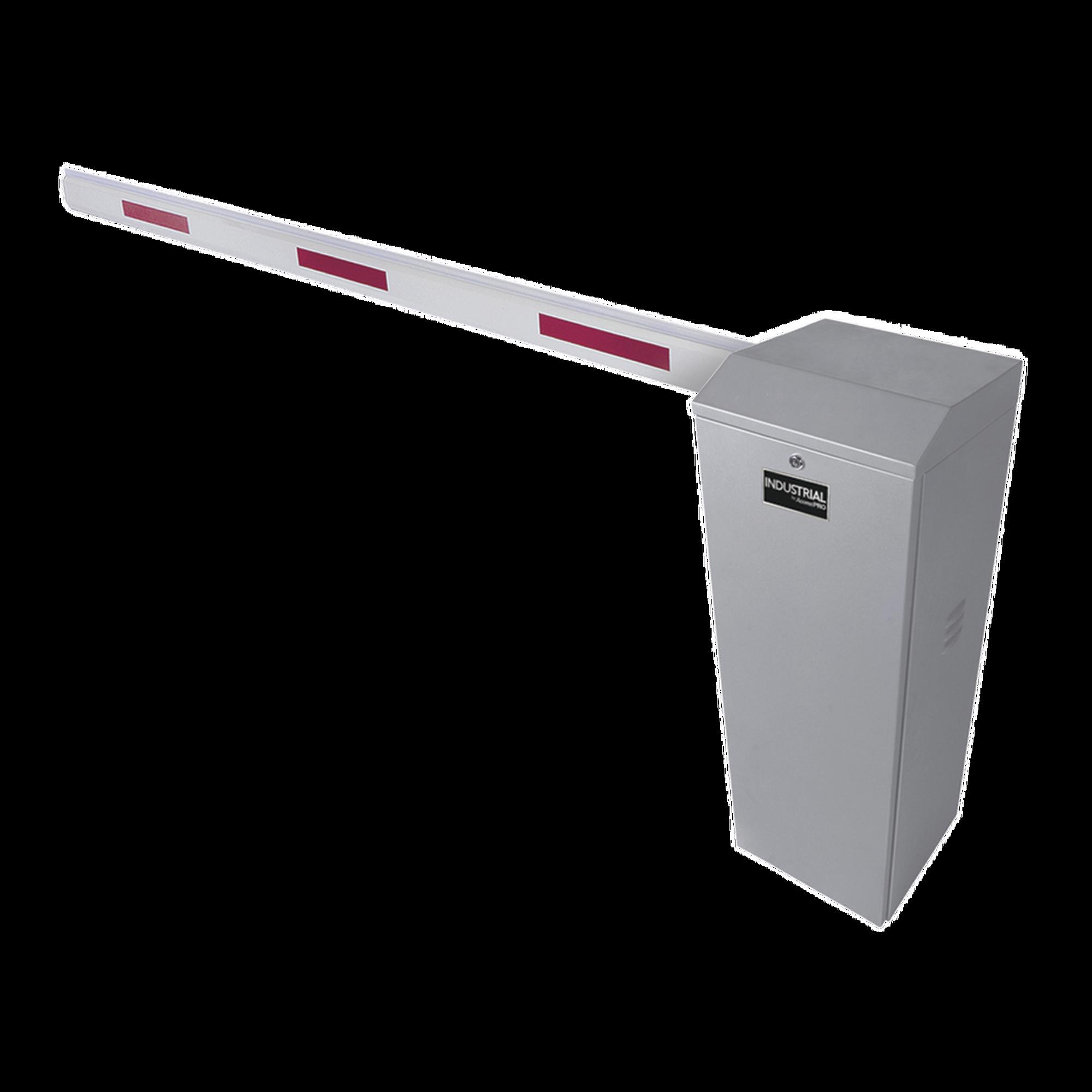 Kit de Barrera Vehicular Izquierda Color Gris y Brazo de 3 m