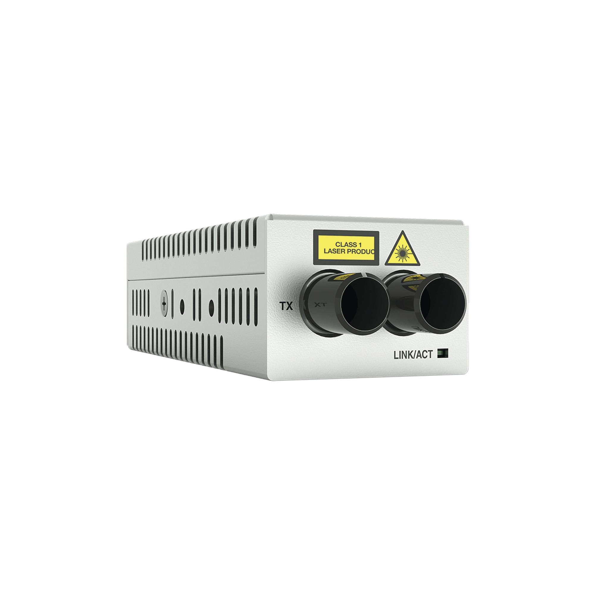Convertidor de medios Gigabit Ethernet a Fibra óptica Conector ST, Multimodo (MMF)