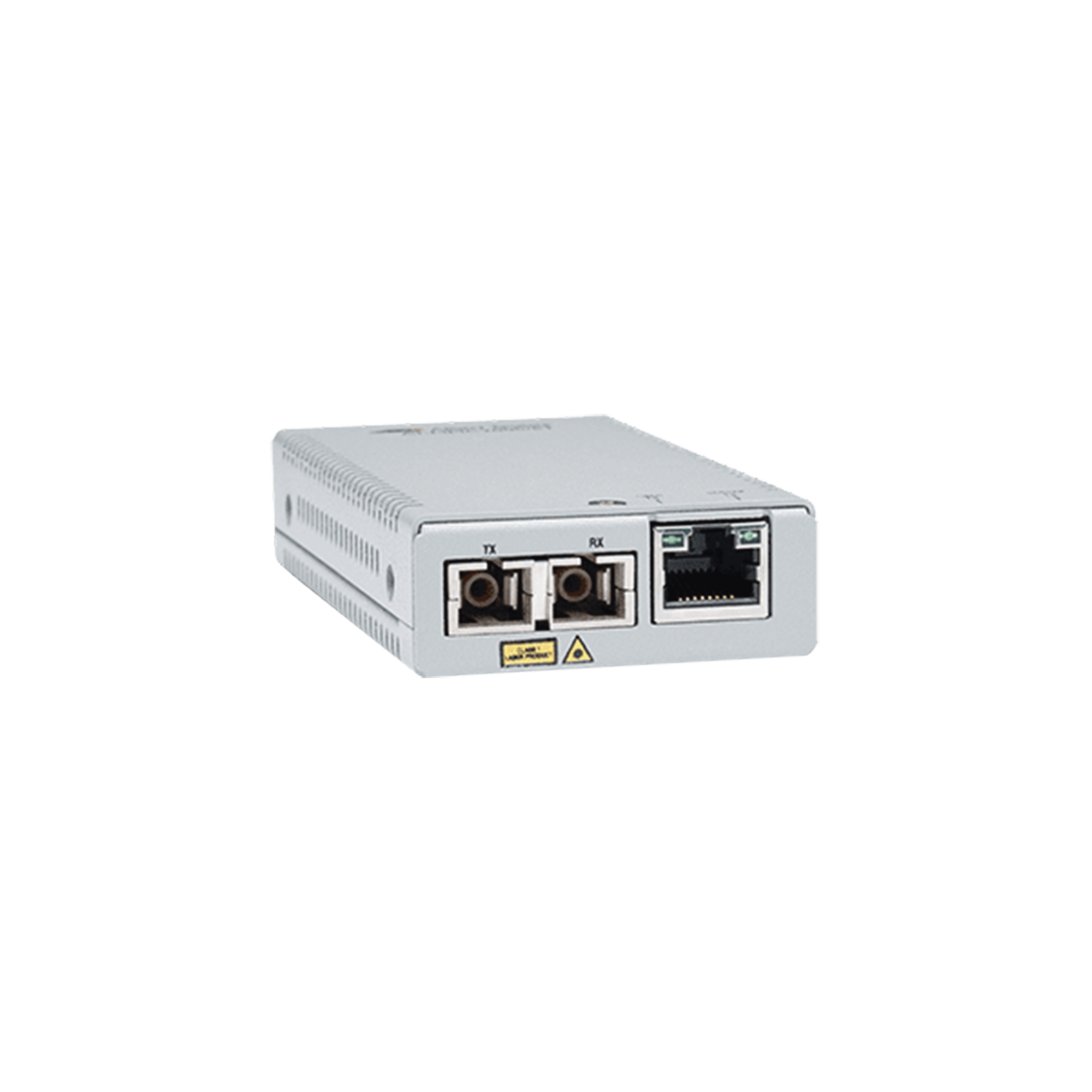 Convertidor de medios gigabit ethernet a fibra optica, conector SC, monomodo (SMF), version TAA (Trade Agreement Act), 10 Km