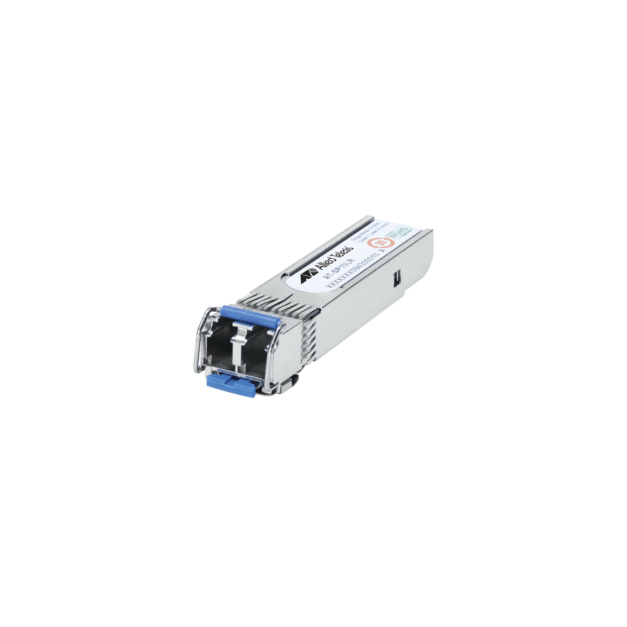 Transceptor MiniGbic SFP+ Monomodo 10G-LR, distancia 10 km conector LC