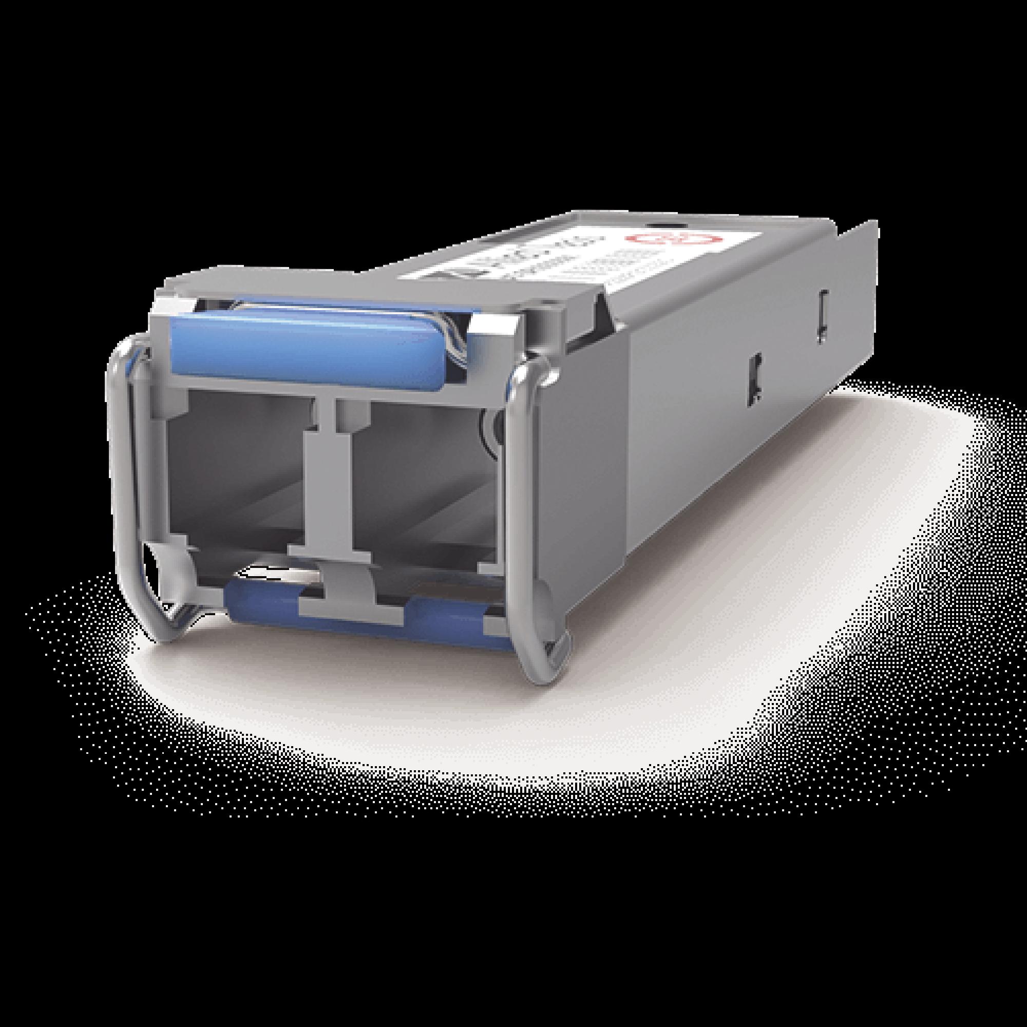 Transceptor MiniGbic SFP Monomodo 1000LX, distancia hasta 10Km, conector LC, Versión TAA