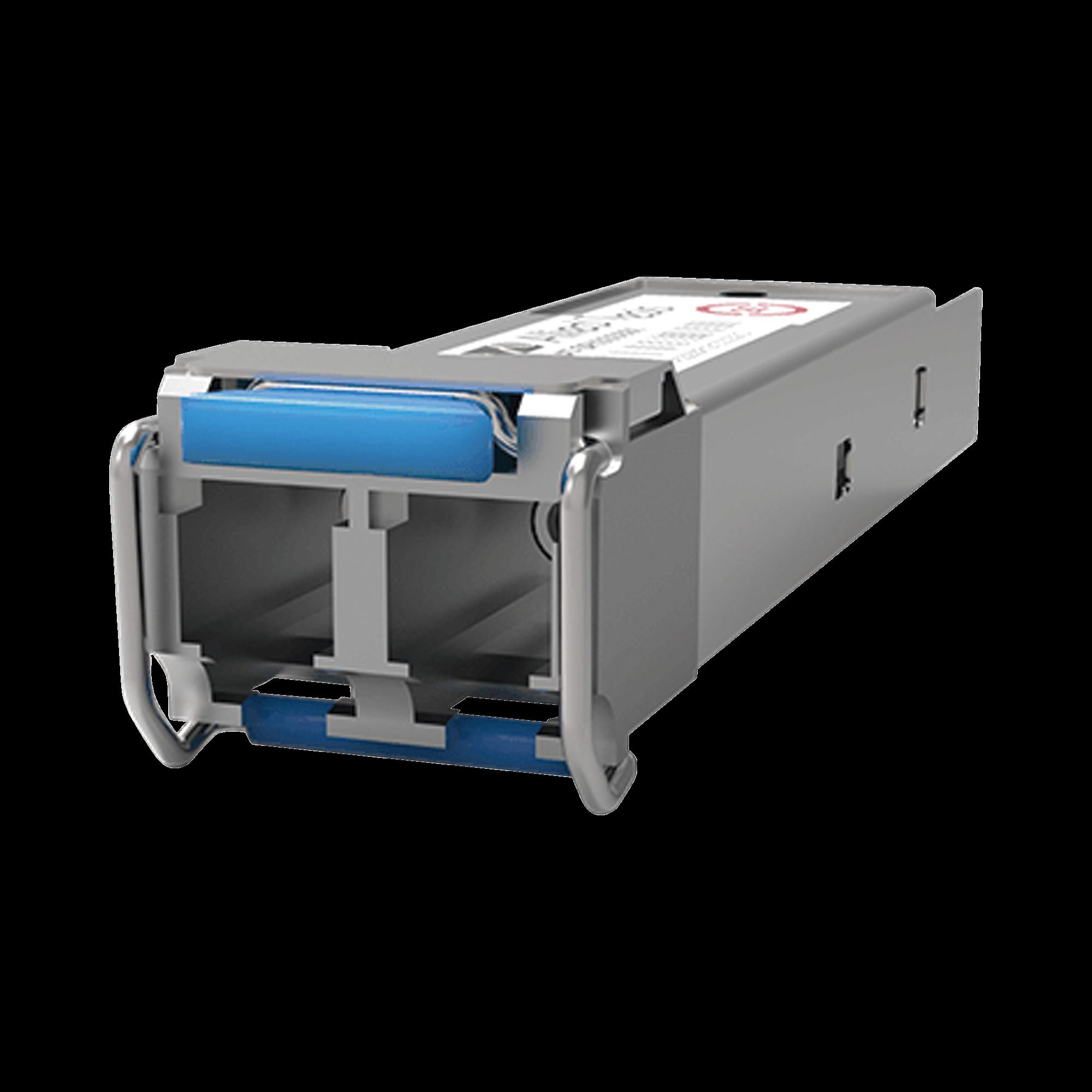 Transceptor MiniGbic SFP Monomodo 1000LX, distancia hasta 10Km, conector LC, Temperatura-Industrial