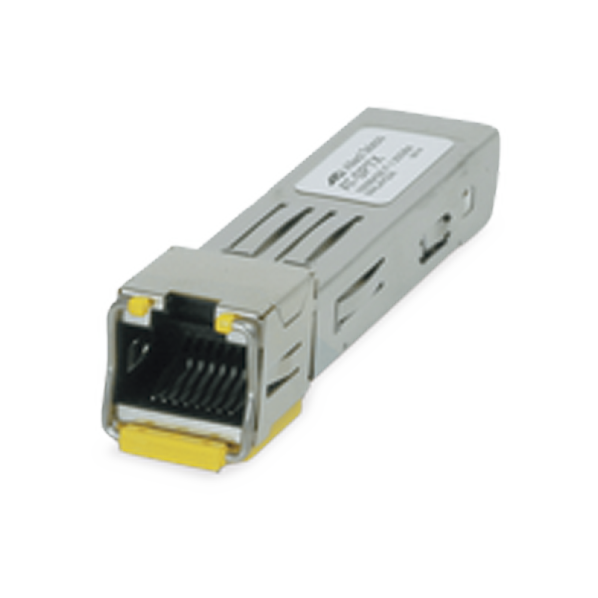 Transceptor MiniGbic SFP 10/100/1000 Mbps, distancia 100 m conector RJ-45 **TAA = Trade Act Agreement Compliant