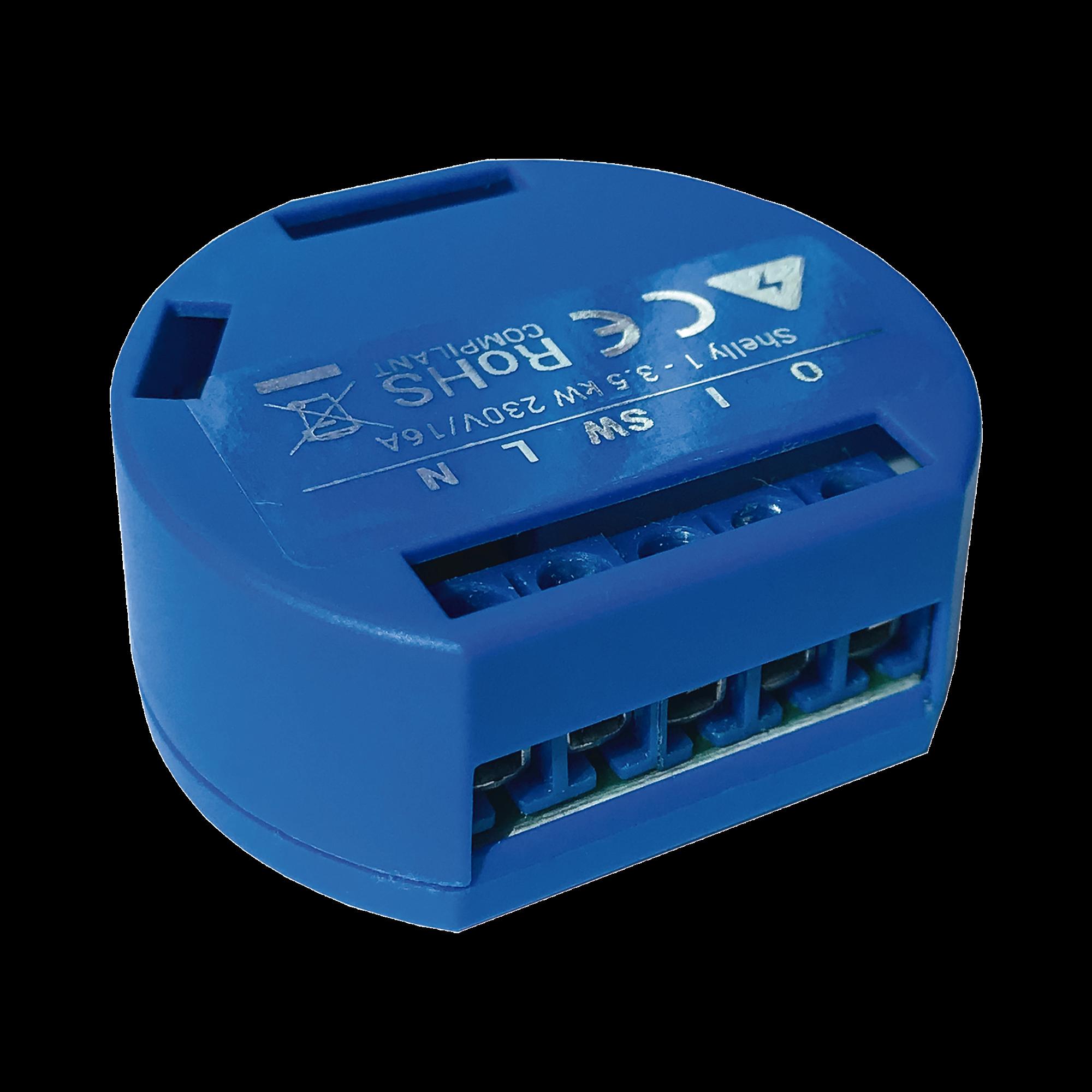 Relevador / Interruptor WIFI INDUSTRIAL Industrial y residencial inteligente / Hasta 16A / Soporta Google /Alexa / Nube P2P y control Local /