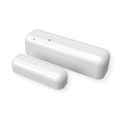 Contacto magnético inteligente e inalámbrico para puertas o ventanas, integrable con relevadores SHELLY