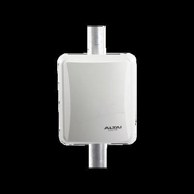 Punto de Acceso WiFi Omnidireccional 2.4/5.8 GHz Alta Capacidad para Exterior 512 Usuarios Concurrentes