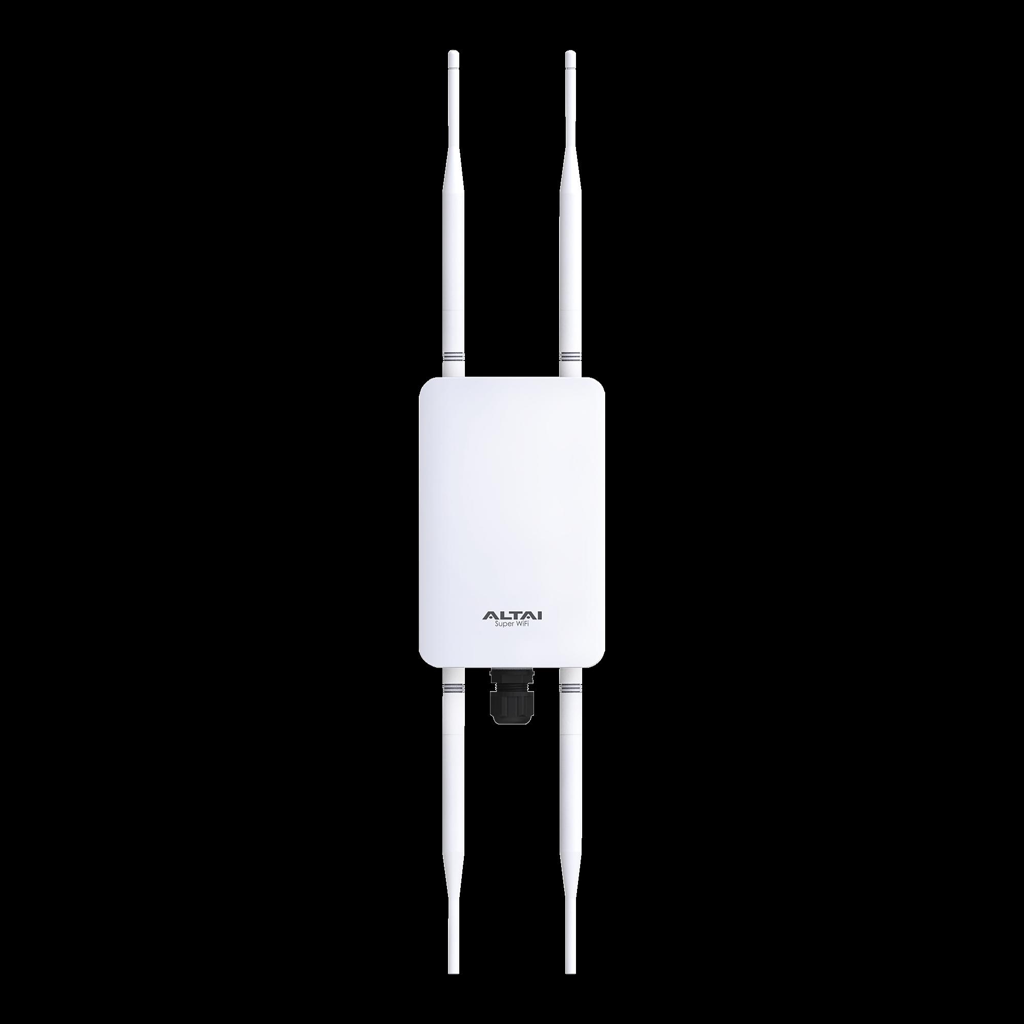 Punto de Acceso Súper WiFi, Wave 2, MU-MIMO, Doble Banda, 1267 Mbps, 256 dispositivos, para exteriores